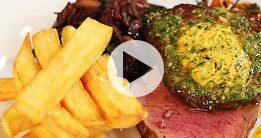 Steak with Cafe de Paris Butter
