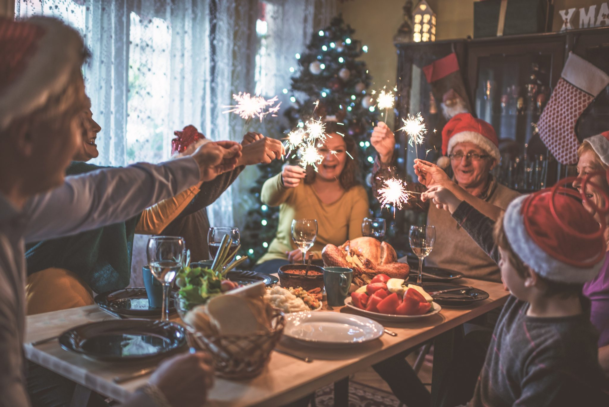 Christmas Meal still brings Christmas Cheer